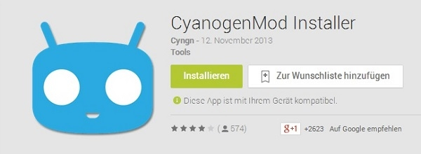 Cyanogenmod Installer Play Store