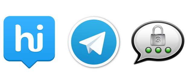 Hike, Telegram, Threema - Drei im Test