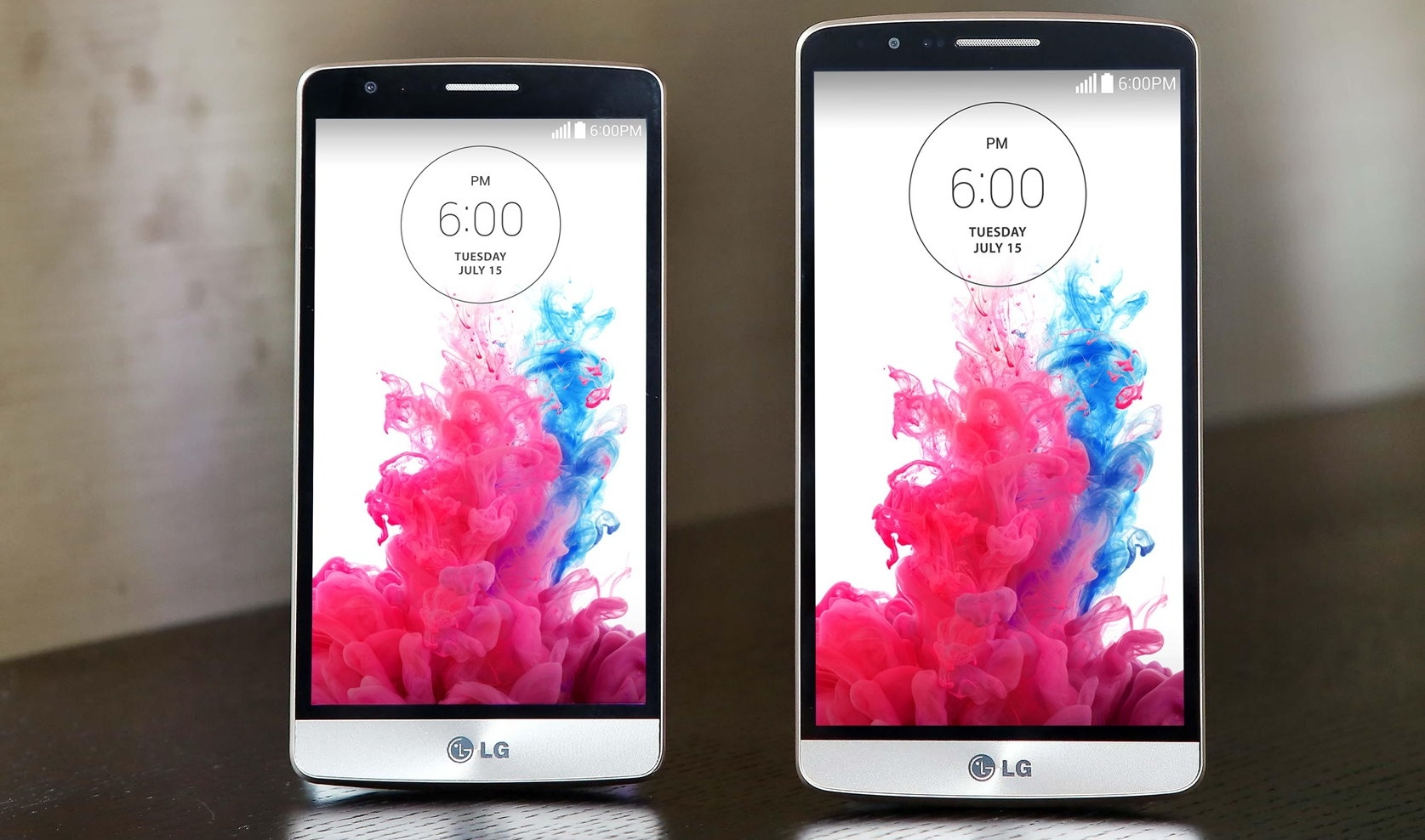 LG G3 Beat (links) und LG G3 (rechts)   © Mobilegeeks