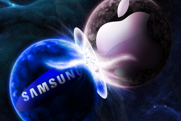 Samsung vs. Apple | © appadvice.com