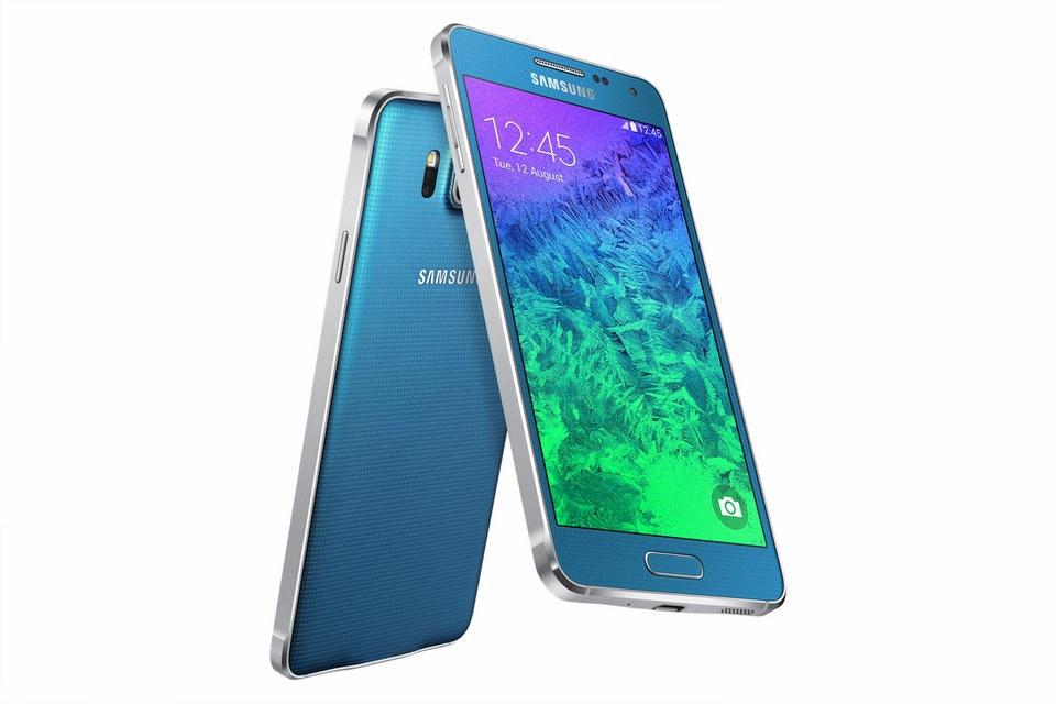 Samsung Galaxy Alpha (blau)