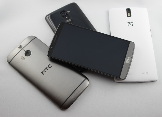 Top 5 : Android Smartphones