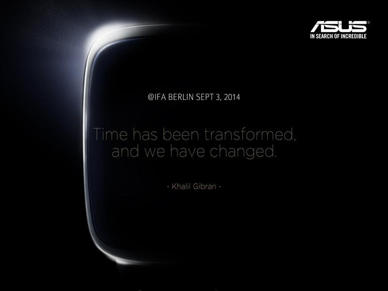 Asus Smartwatch? | © Asus via Twitter