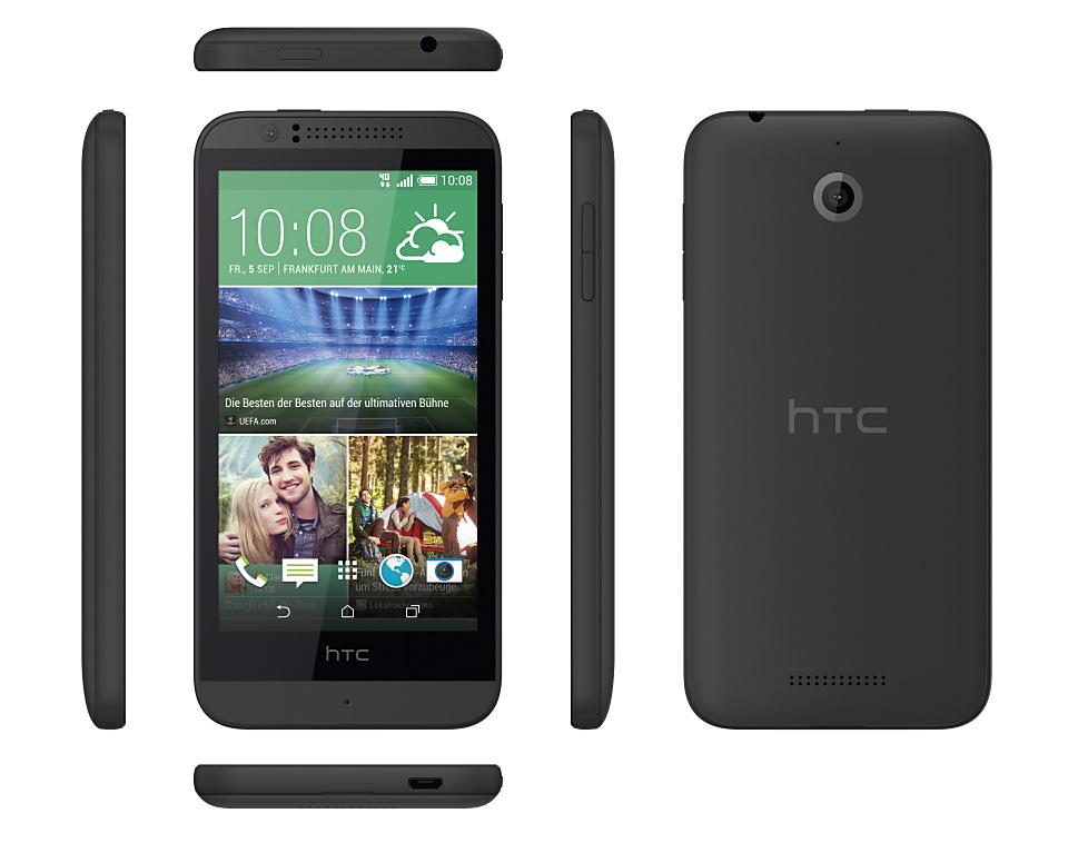HTC Desire 510 (Schwarz)   © mobiFlip.de