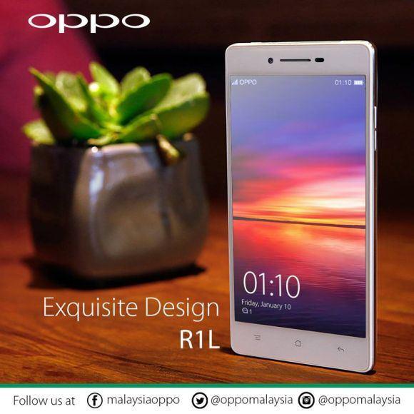 Oppo R1L | © Oppo Malaysia