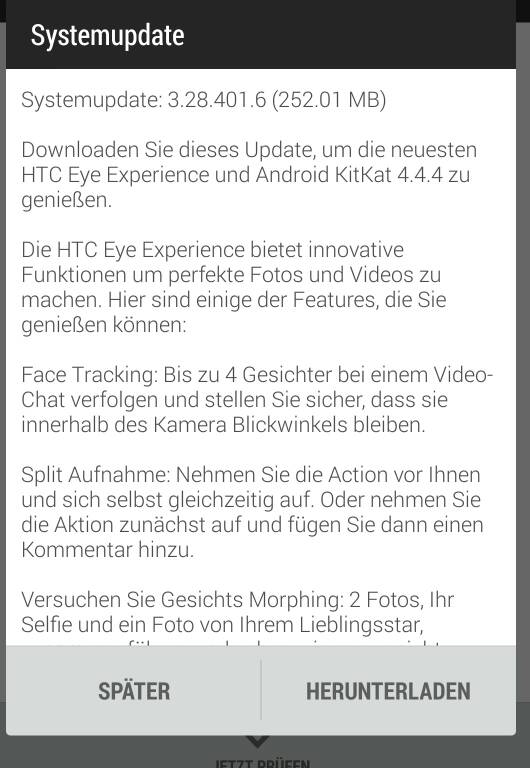 htc one m8 android 4.4.4