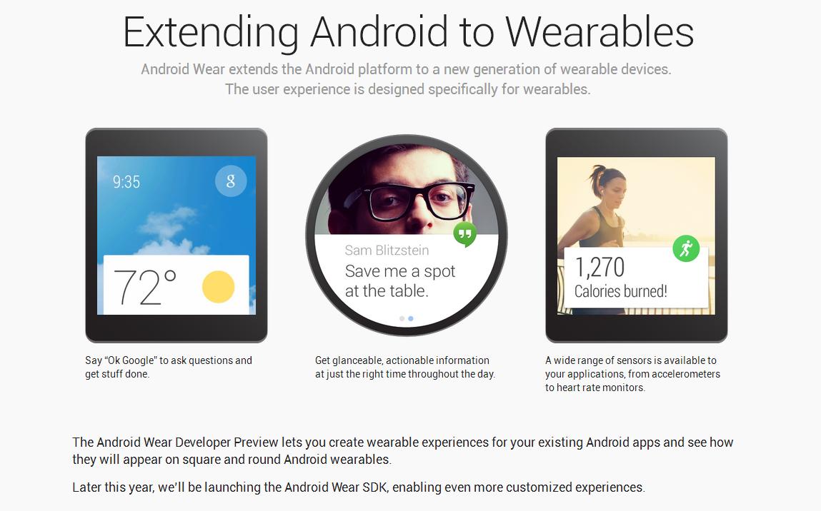 android wear google io